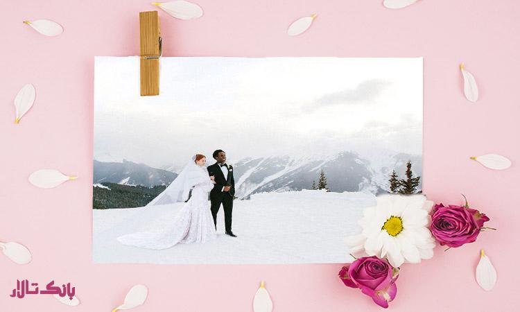 انتخاب تشریفات عروسی برای زمستان