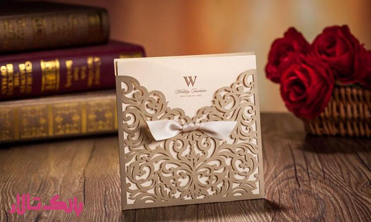 انخاب کارت دعوت قیمت مناسب باعث کاهش هزینه ها ی عروسی می شود