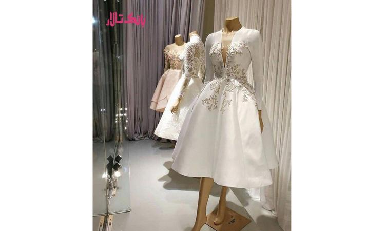انتخاب لباس عروس کوتاه