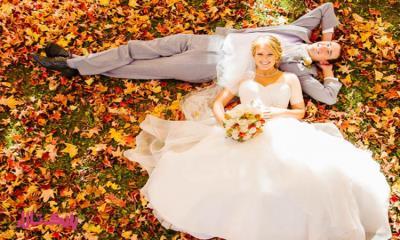 برگزاری جشن عروسی در پاییز