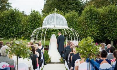 برگزاری عروسی در فضای باز