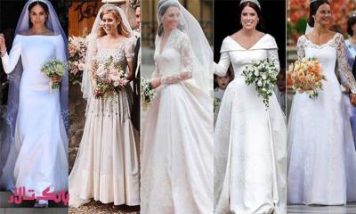 راهنمای لباس عروس
