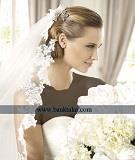 مدل لباس عروس های دکلته ، دانتل و مدل ماهی