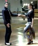 آموزش رقص تانگو دو نفره عروس و داماد - قسمت اول