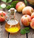 درمان جوش با سرکه سیب