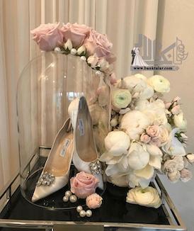 ۲۰ مدل تزیین خرید عروس داماد بسیار زیبا