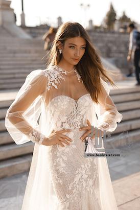 مدل لباس عروس 2019 دانتل و اروپایی