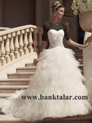 لباس عروس شیک و زیبا 2013