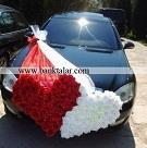 مدل های تزئین ماشین عروس