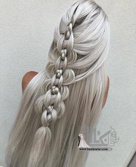 انواع مدل بافت مو دخترانه و زنانه جدید